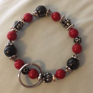 🔥3 for $20🔥🎄🎄red and black and silver🎄